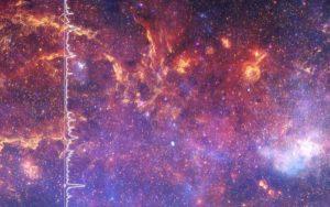 Cùng nghe thứ âm thanh tuyệt diệu của vũ trụ, được tạo ra từ loạt ảnh chụp Dải Ngân hà của NASA