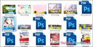 File PSD là gì?