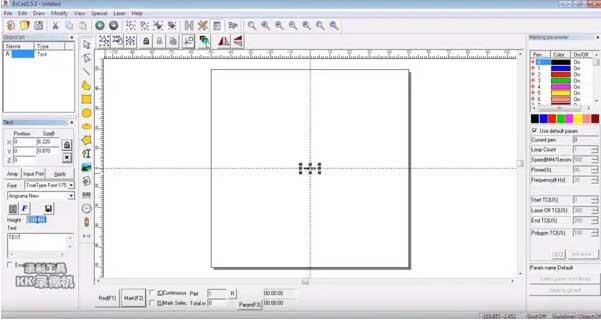 Phần mềm EzCAD