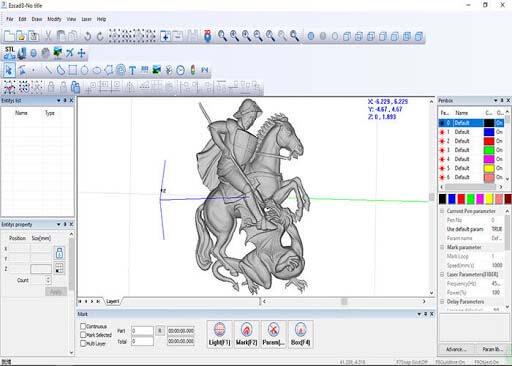phần mềm khắc laser marking software
