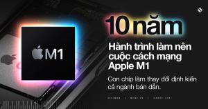 10 năm hành trình làm nên cuộc cách mạng Apple M1 – con chip làm thay đổi định kiến cả ngành bán dẫn