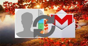 Đồng bộ danh bạ iPhone lên Gmail
