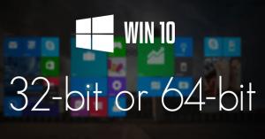 Hướng dẫn nâng cấp từ Windows 10 32-bit thành 64-bit